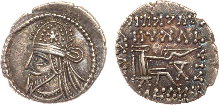 Dracma Artabanos IV