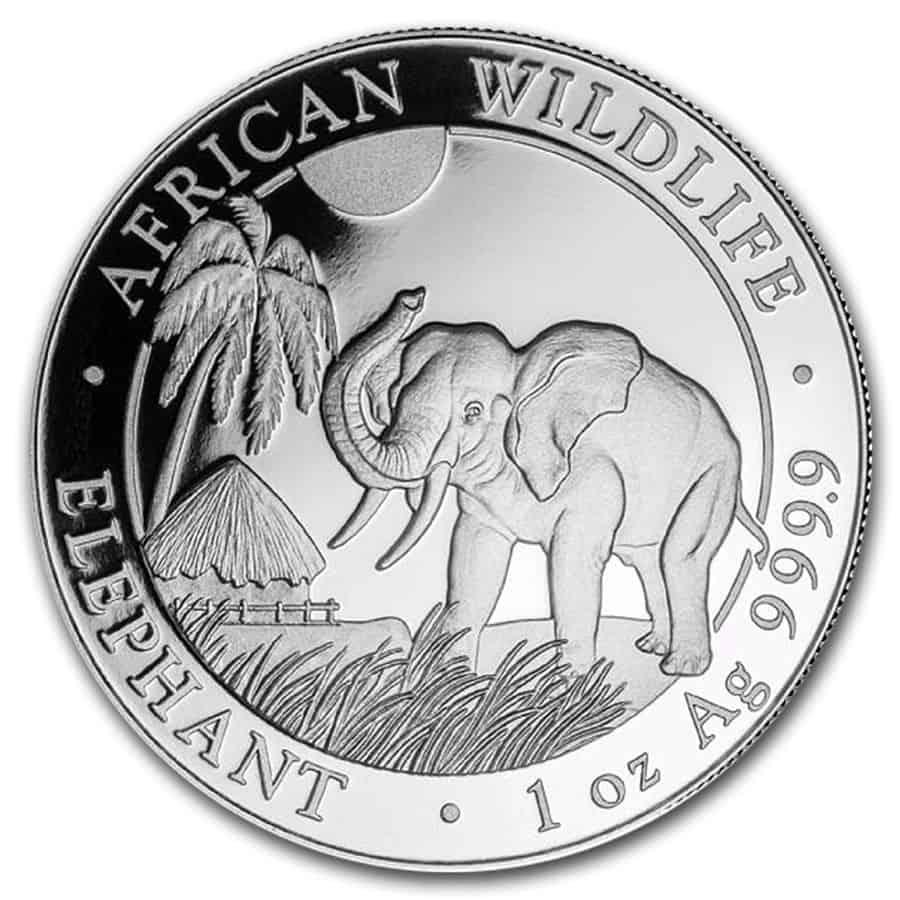 elefante plata