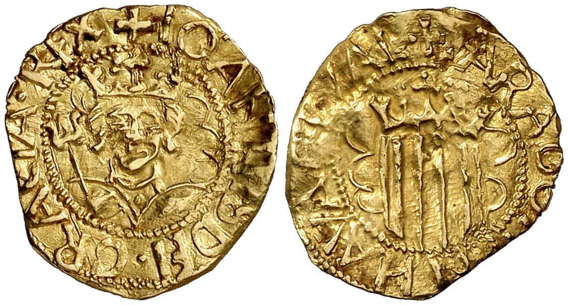 Cuarto de pacific Juan II de Aragón