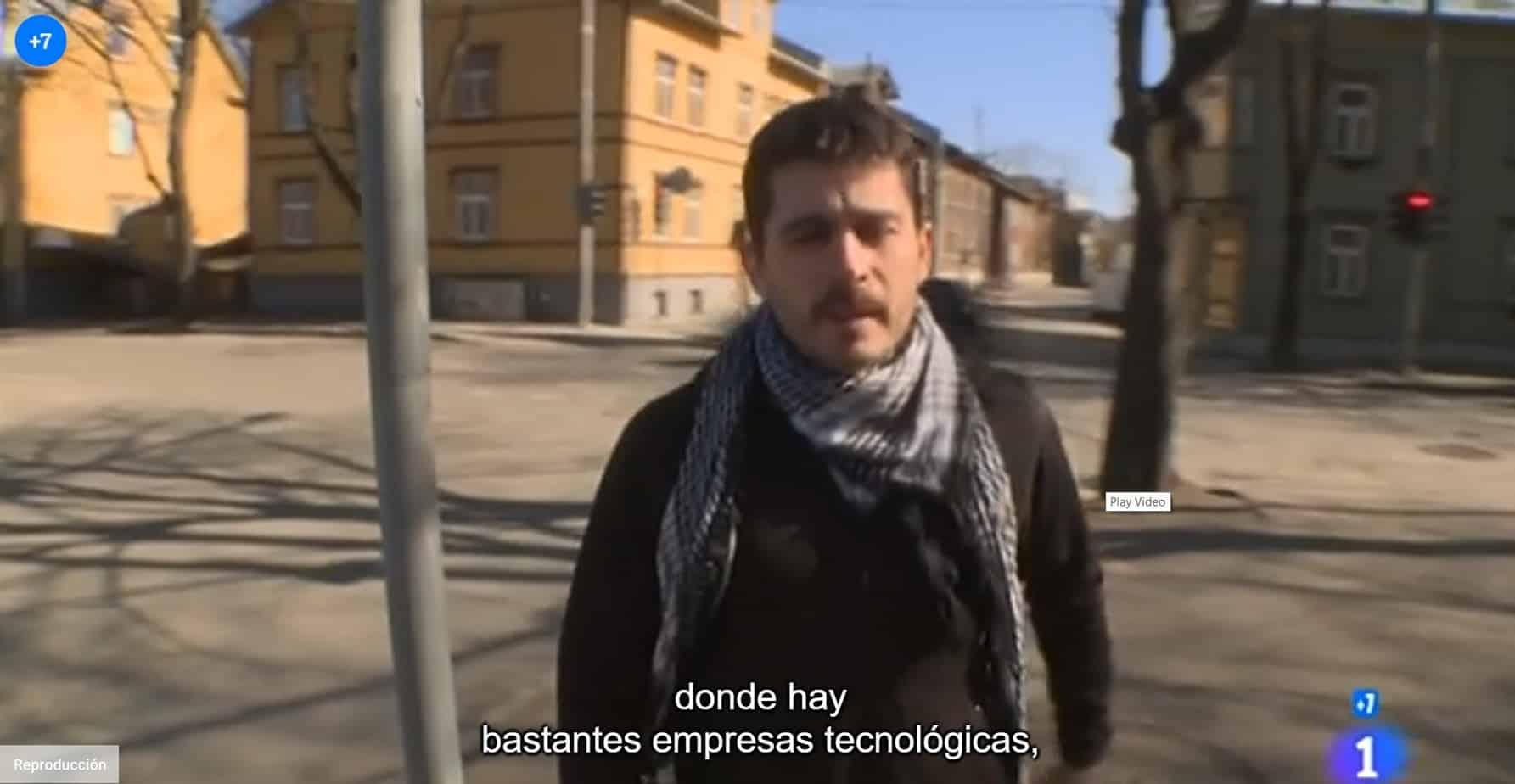 He aparecido en Españoles en el Mundo: Estonia