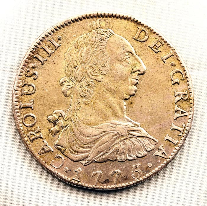 8 reales 1775
