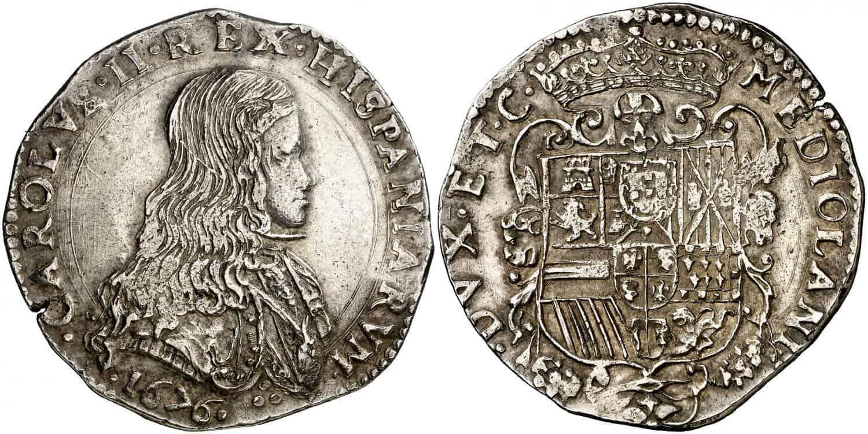 Carlos II. Milán. 1676.