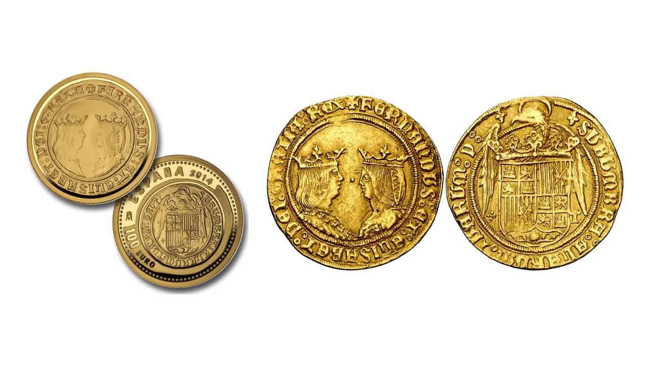 Doble excelente de los Reyes Católicos, ceca de Toledo