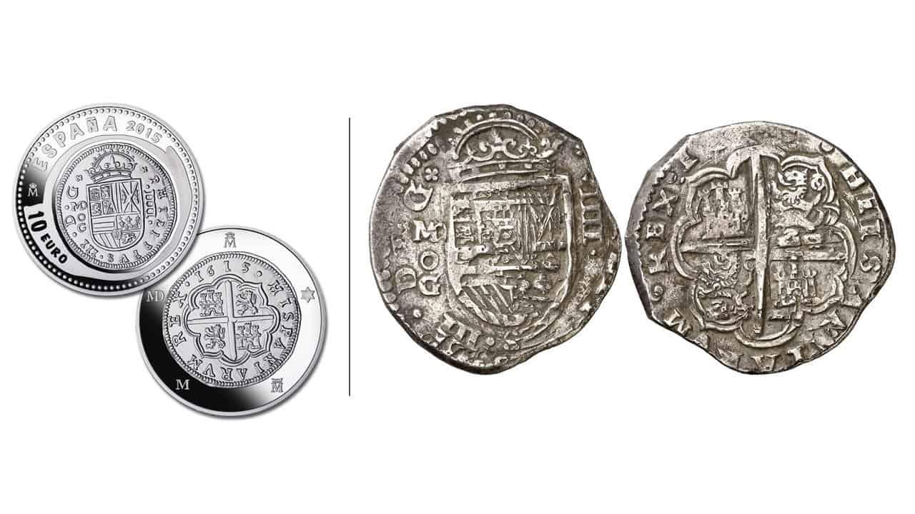 2 escudos de 1615