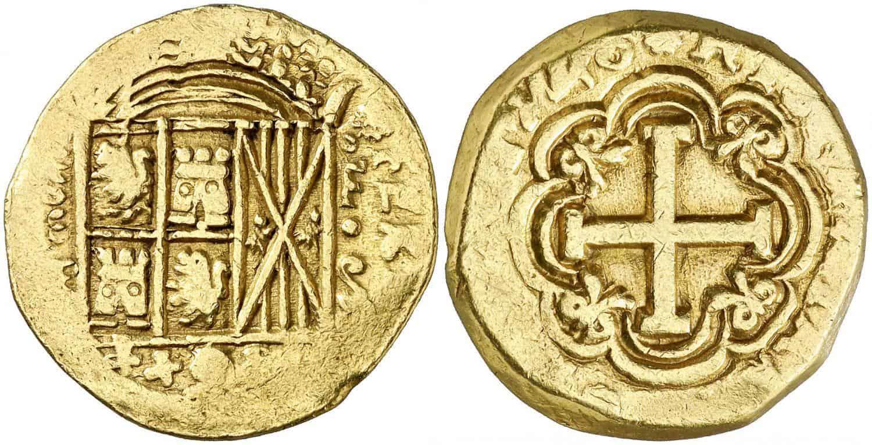 8 escudos. Fernando VI. Santa Fe de Nuevo Reino. 1748.