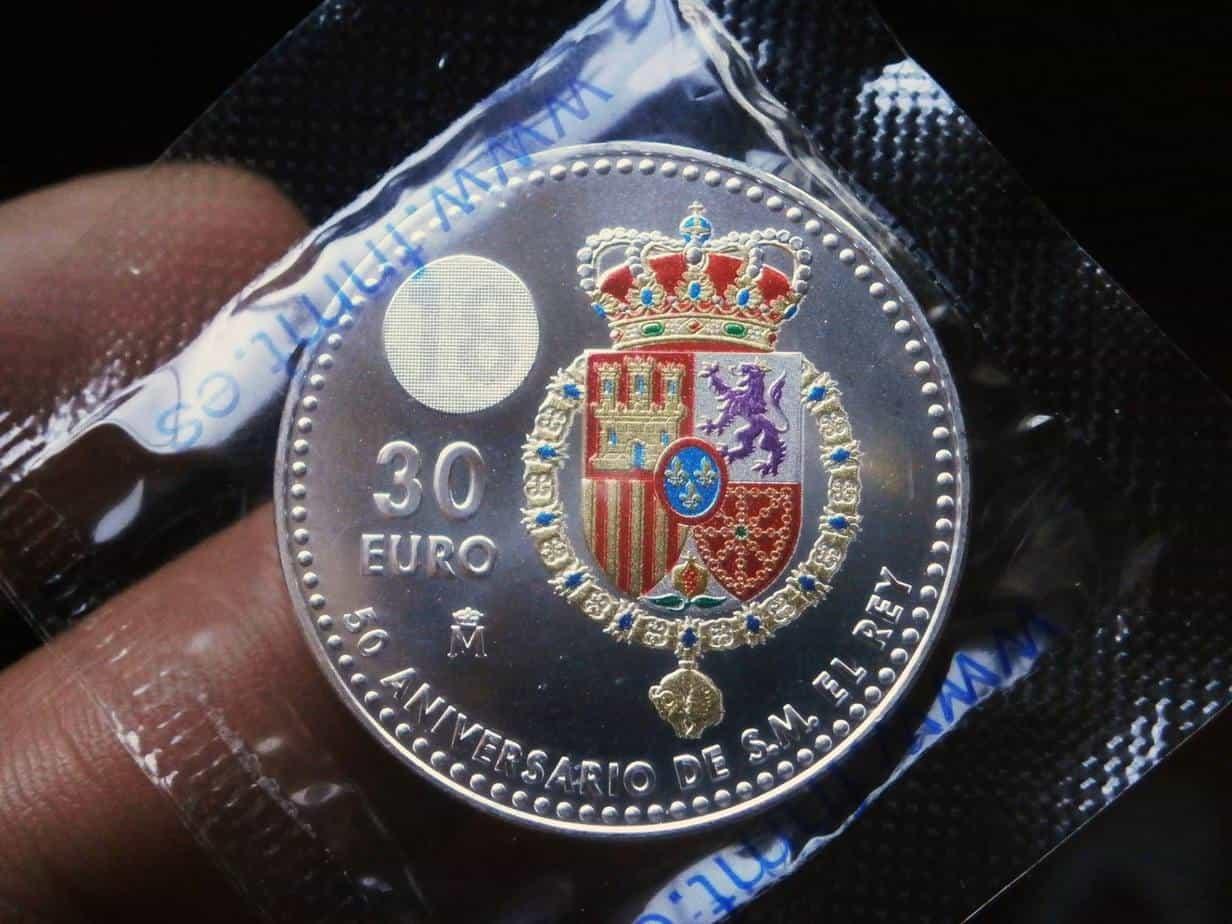 30 euros 2018 reverso
