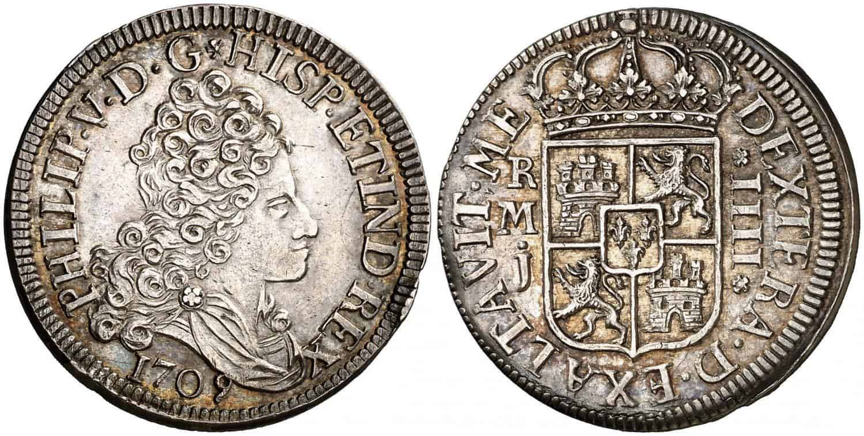 Ejemplar-madrileño-de-1709-en-EBC.-Felipe-V.-1709