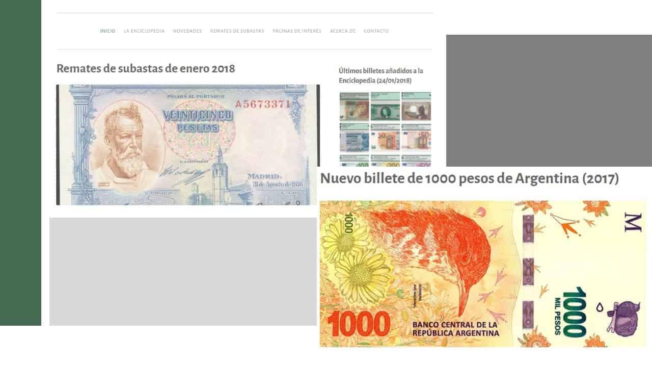 Enciclopedia de Billetes Mundiales