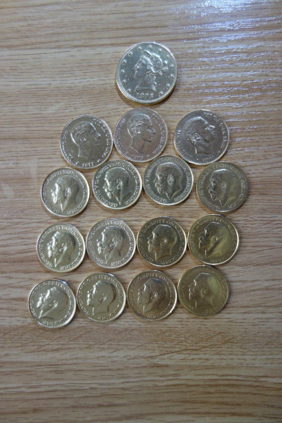 Monedas varias
