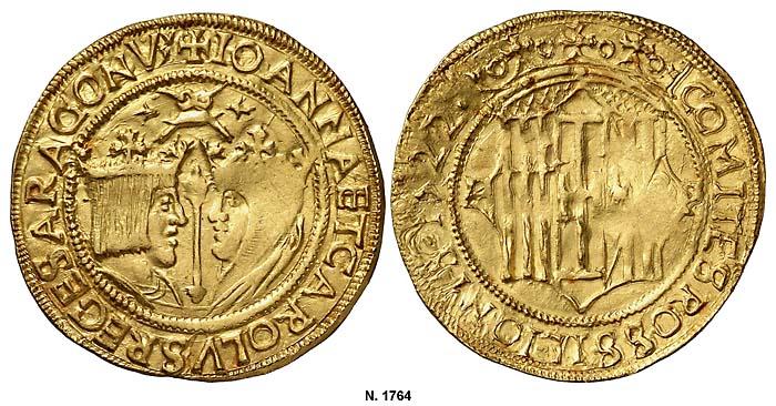 Imagen 16. Doble principat acuñado en Perpiñán