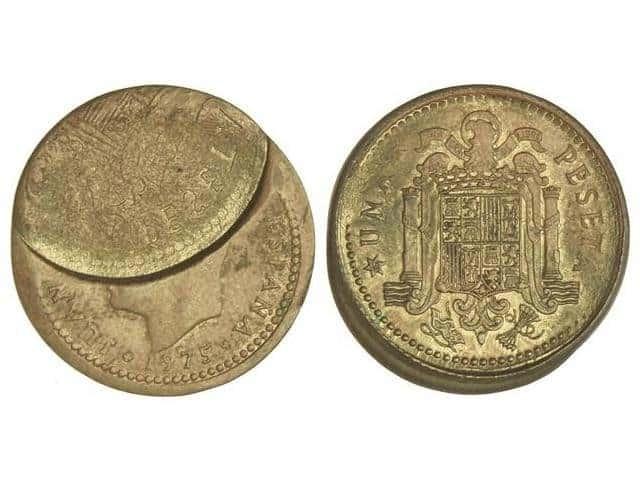 1 peseta 1975