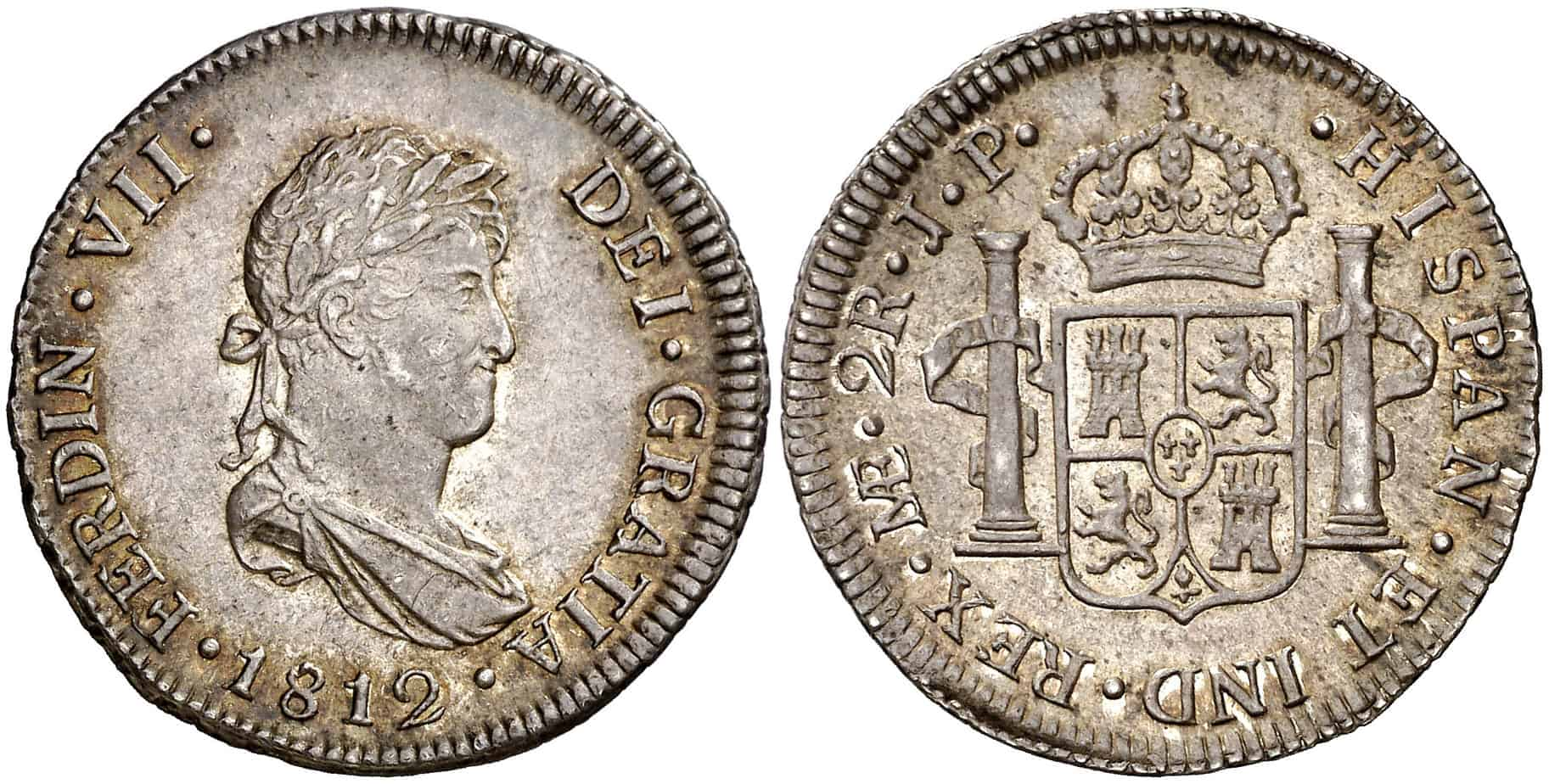 2 reales 1812 Lima