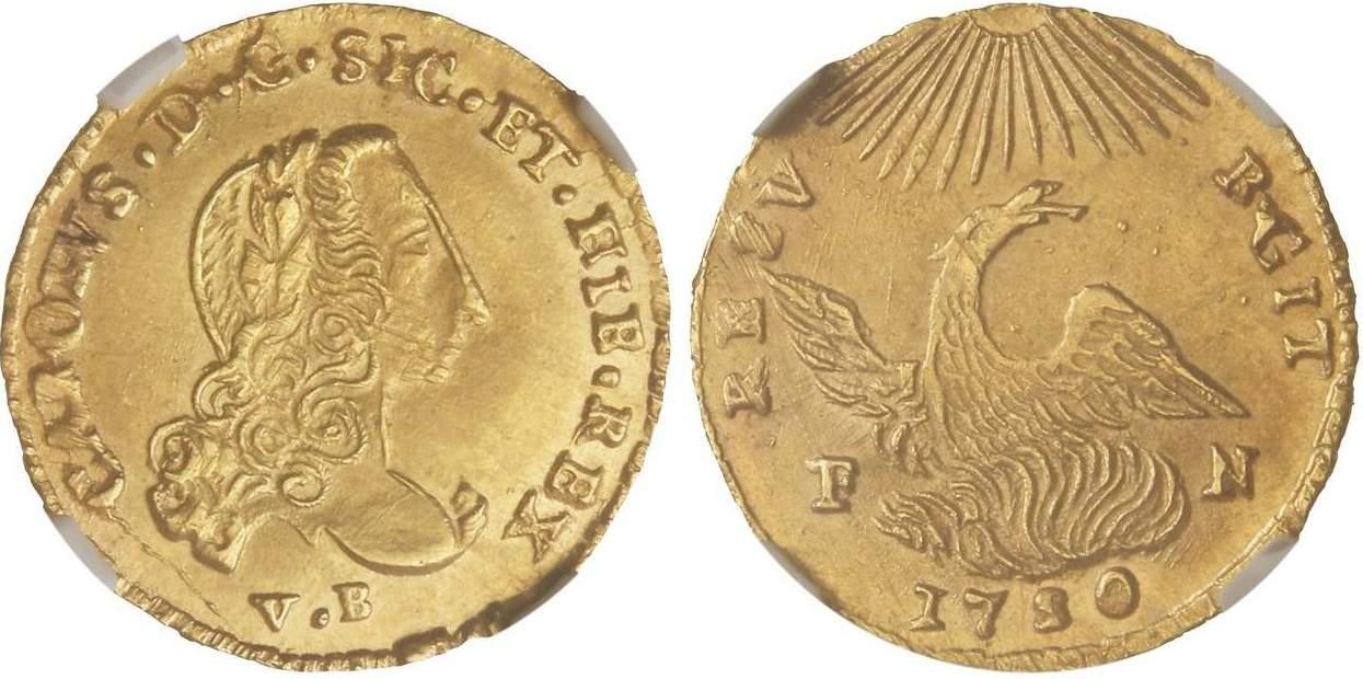 Oncia de 1750, Palermo