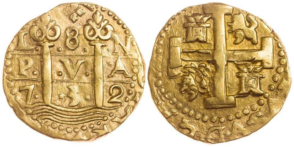 8 escudos Lima 1732