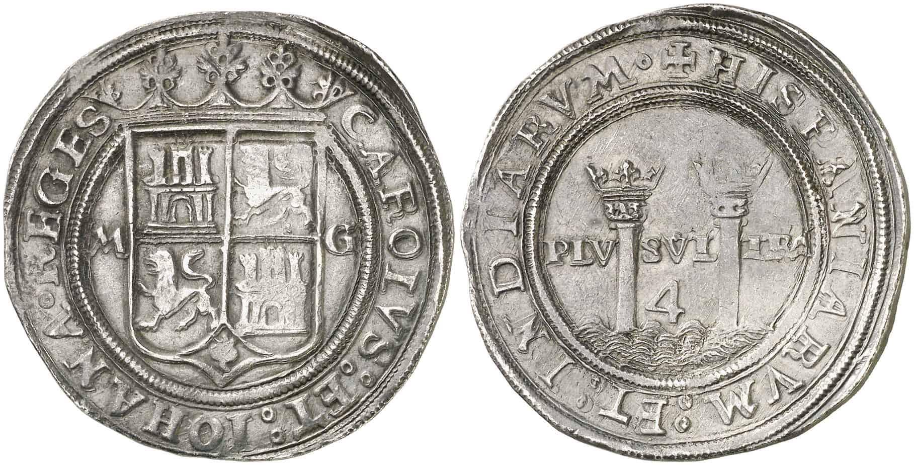 México. 4 reales. Juana y Carlos