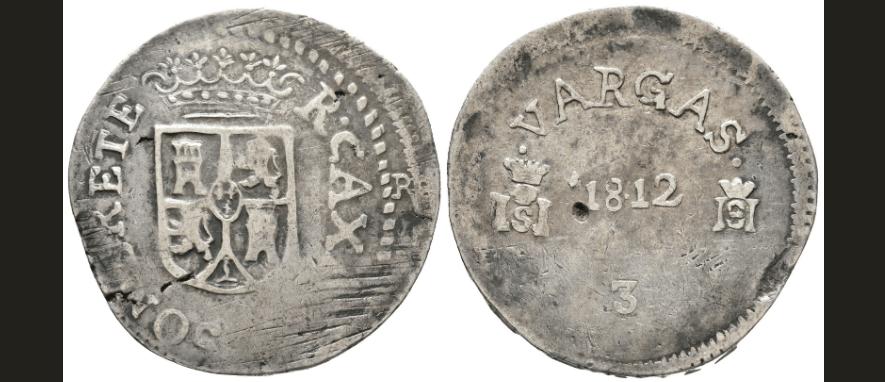 8 reales 1812, Sombrerete