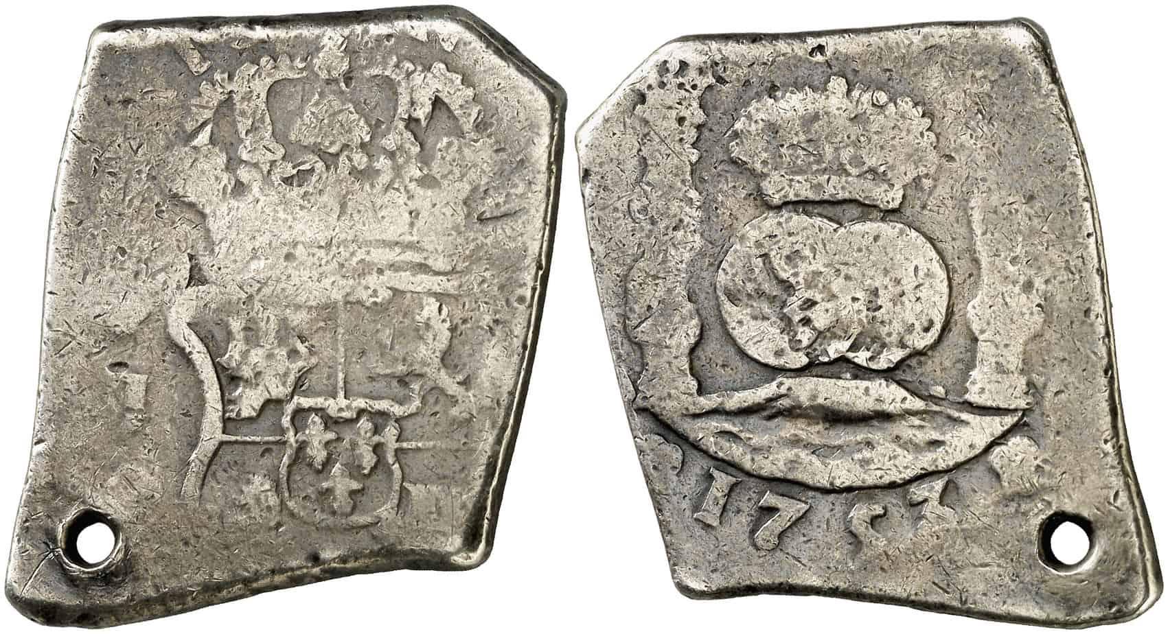 8 reales Guatemala 1753
