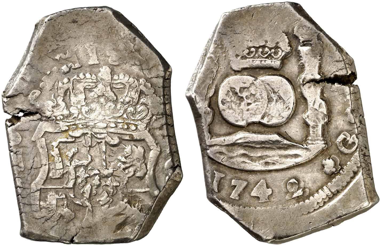 8 reales Guatemala 1742