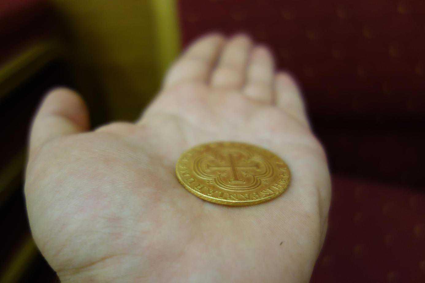 canto moneda falsa