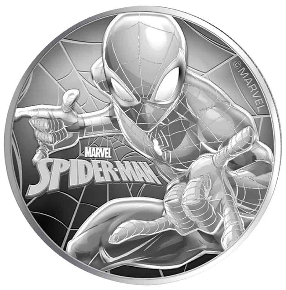 Moneda Buillon Spiderman