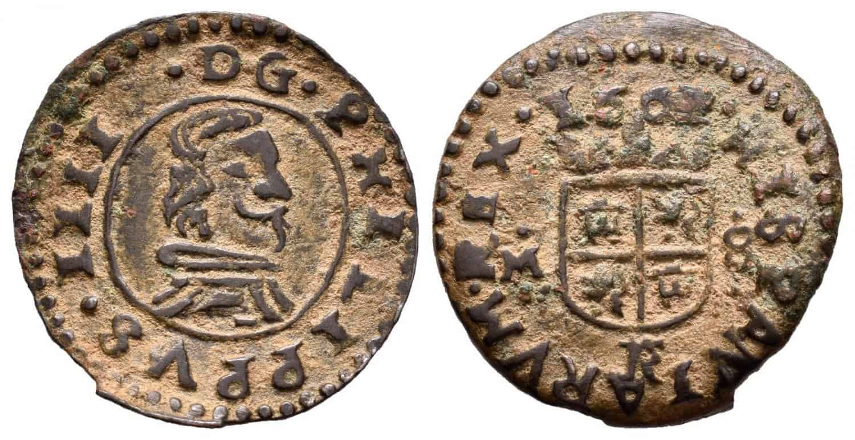 8 maravedís 1663, Trujillo