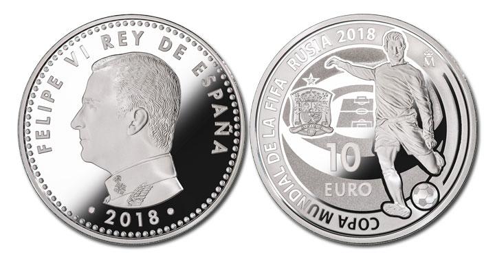 Las monedas del Mundial de 2018