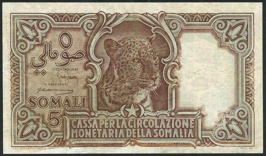 5 Somali 1951