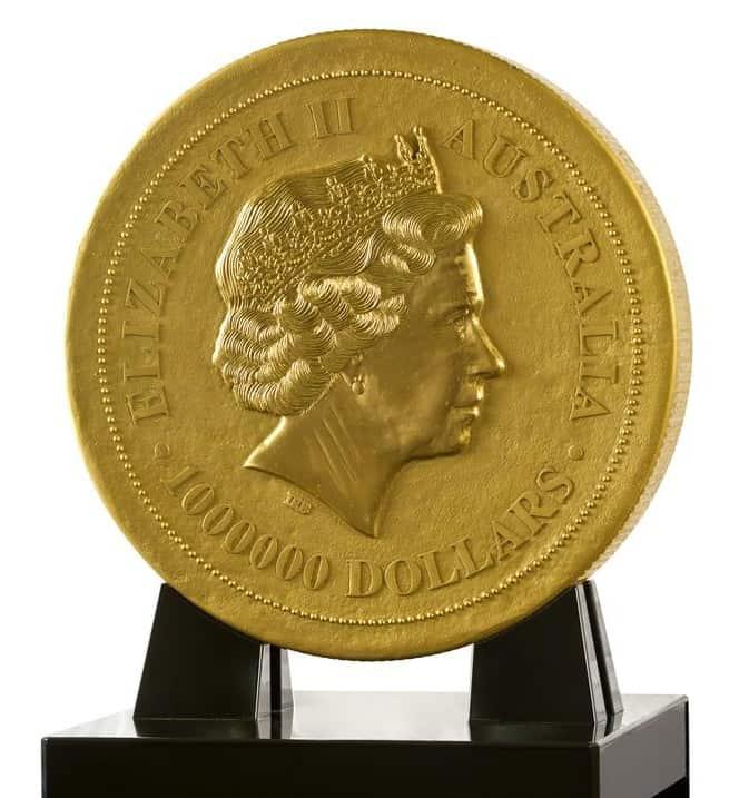 Las monedas de oro más grandes del mundo