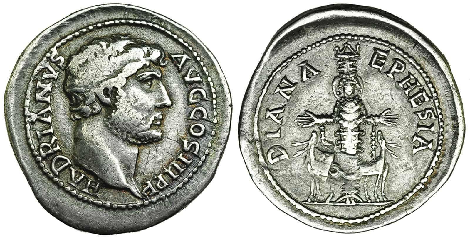 Tetradracma de Adriano, Éfeso