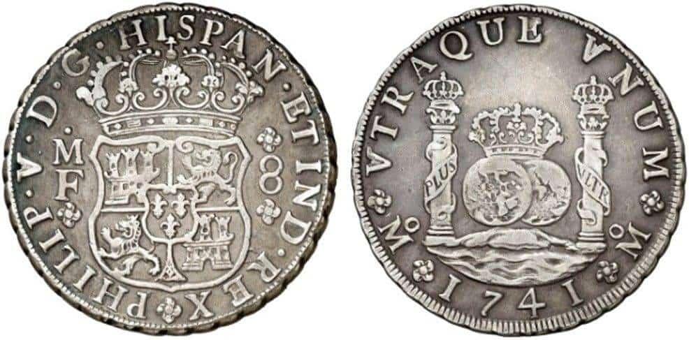 8 reales 1741, México