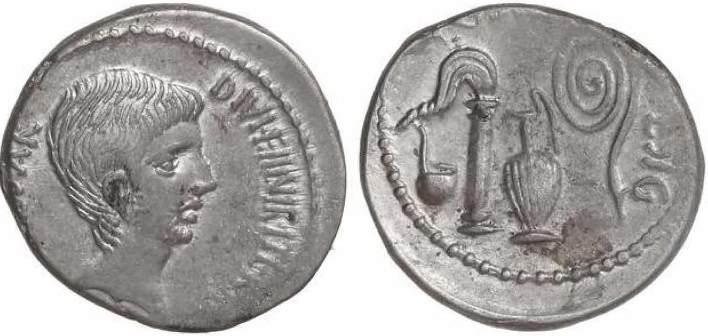 Denario de Augusto