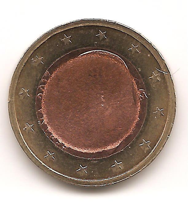 Una supuesta moneda híbrida de 1 euro y 1 céntimo
