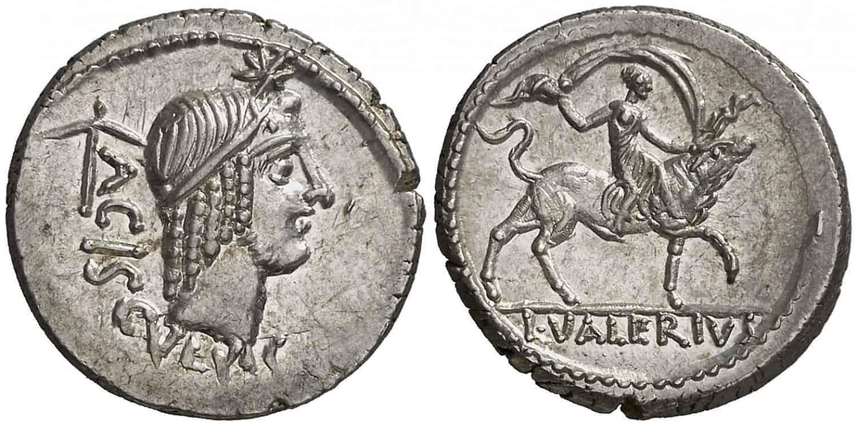 denario Gens Valeria