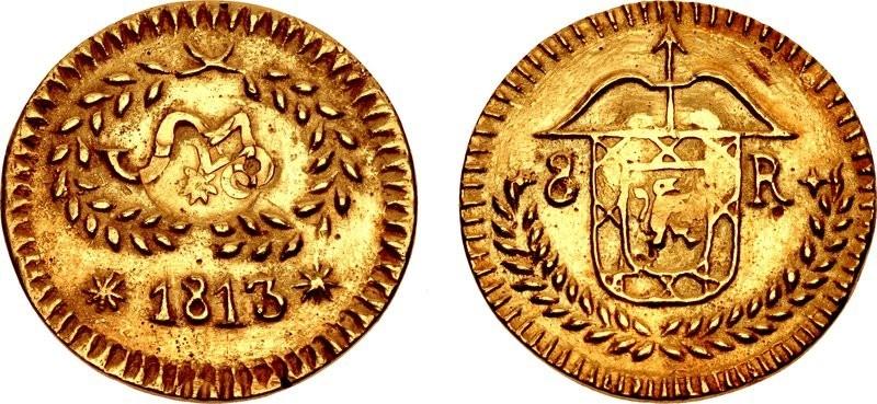moneda Morelos oro