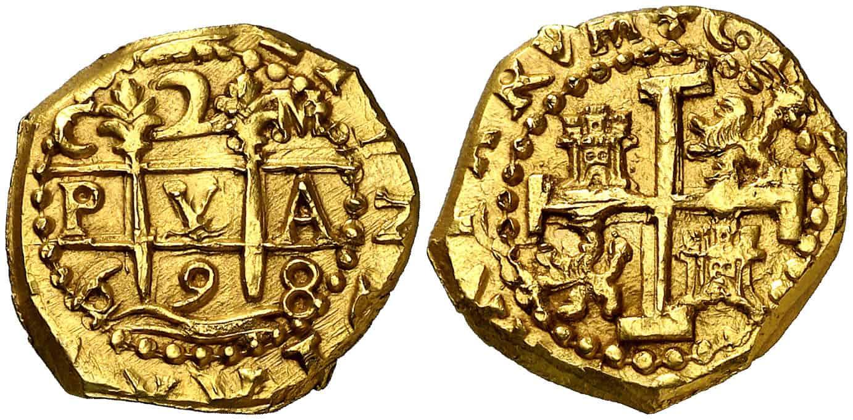 2 escudos Cuzco