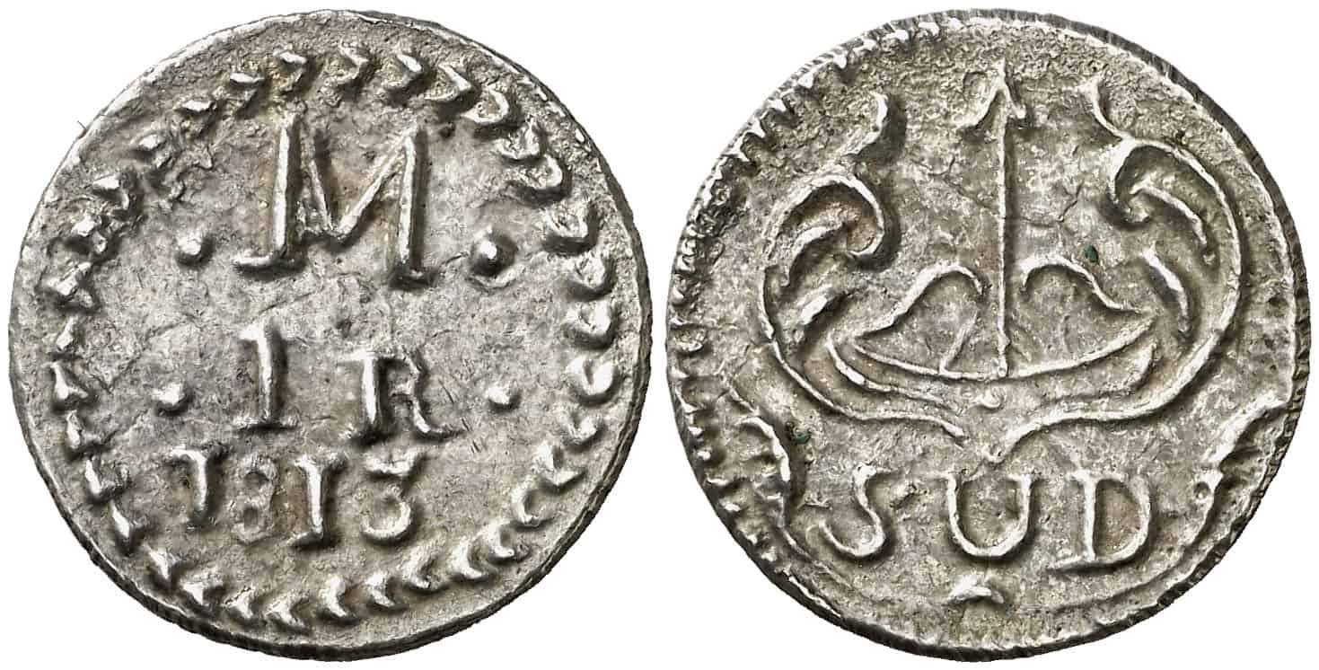 1 real Morelos 1813