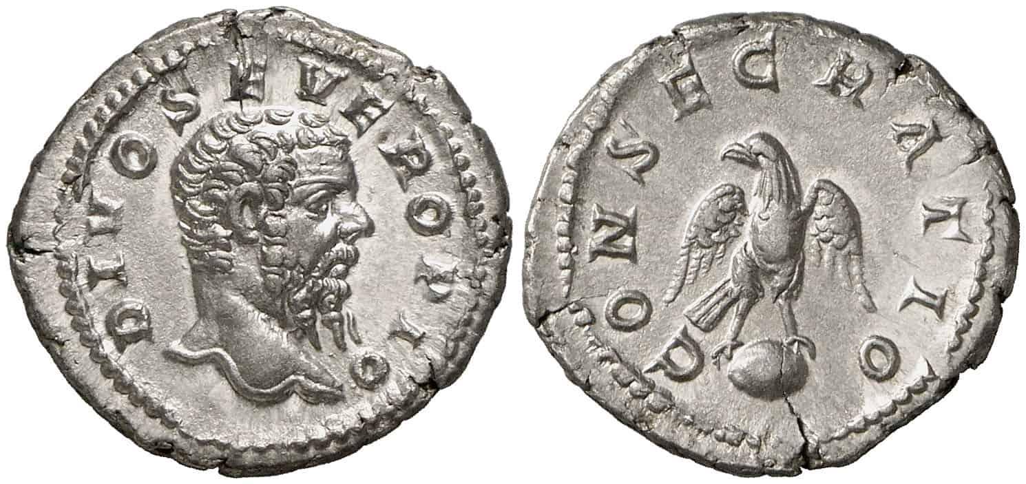 Efigie de Septimio Severo