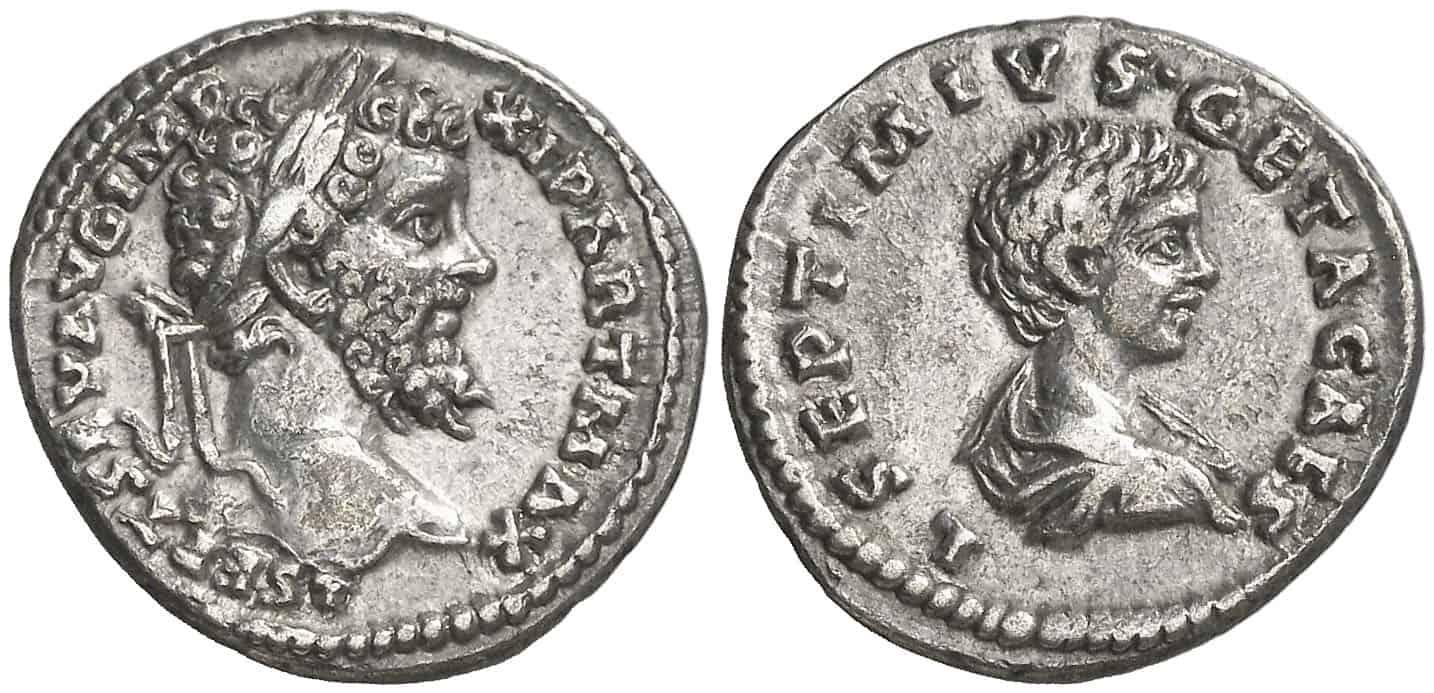 retrato de los dos vástagos y futuros co-emperadores