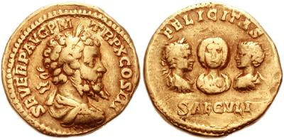 Moneda todos los Severos