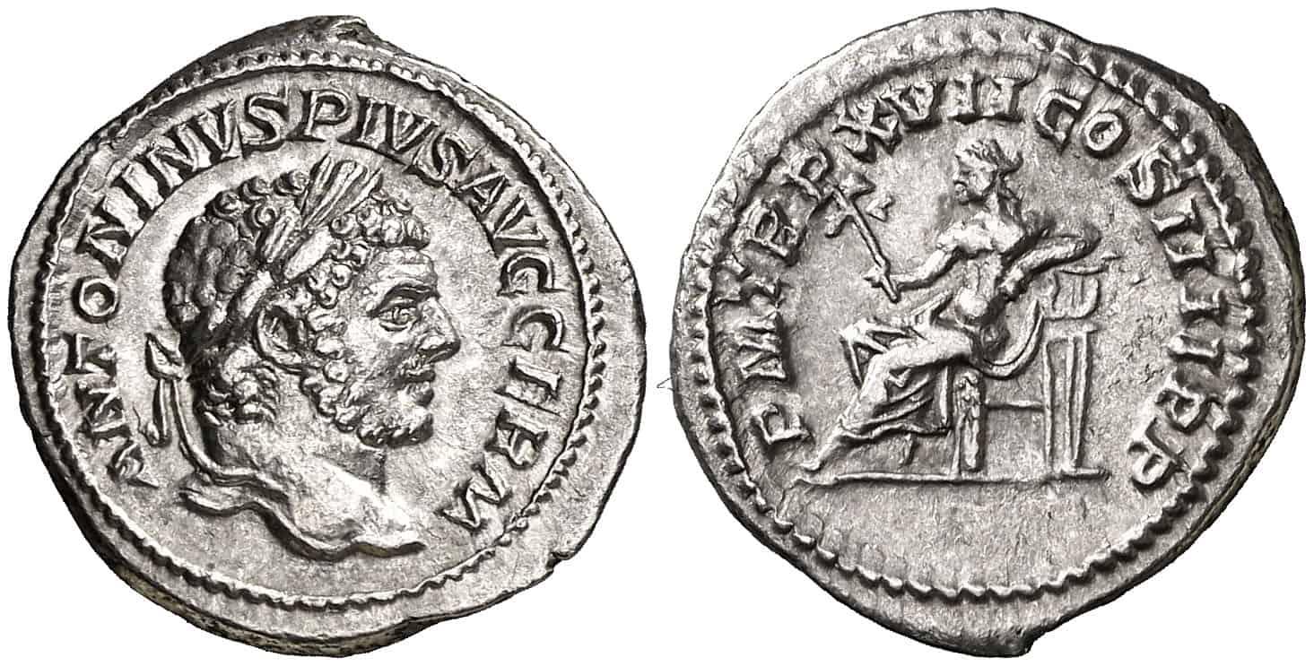 denario de Caracalla