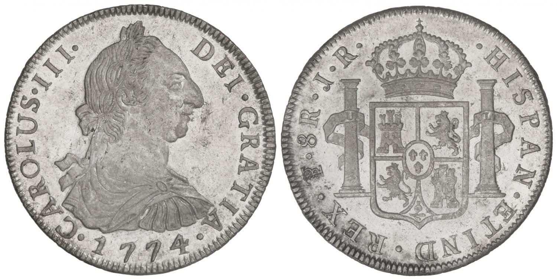 8 reales 1774, Potosí