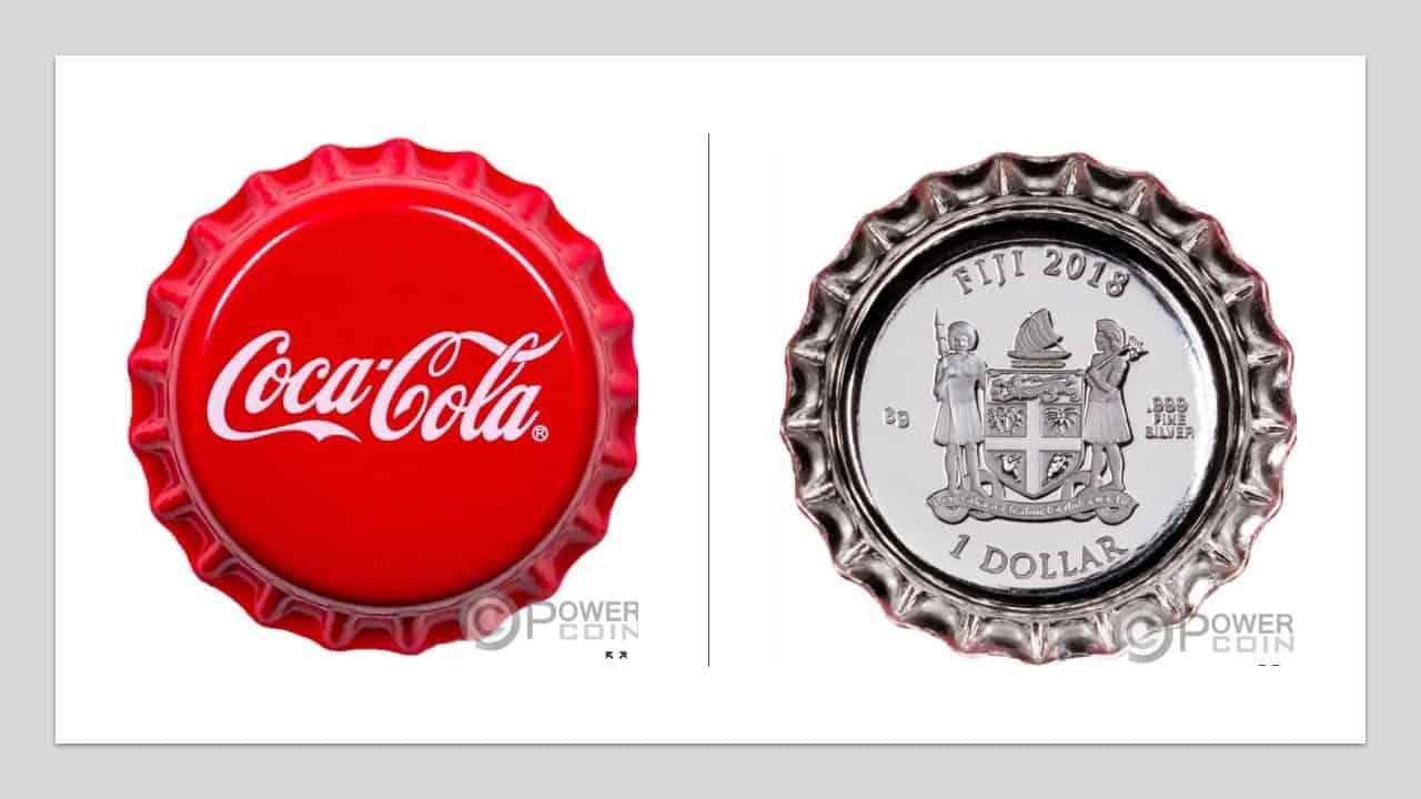"Fiji. 1 dólar ""Coca-Cola"""