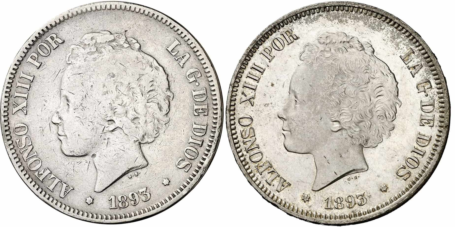 ¿Cuánto valen las 5 pesetas de plata?