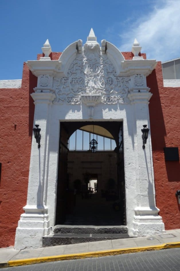 Un paseo numismático por Arequipa