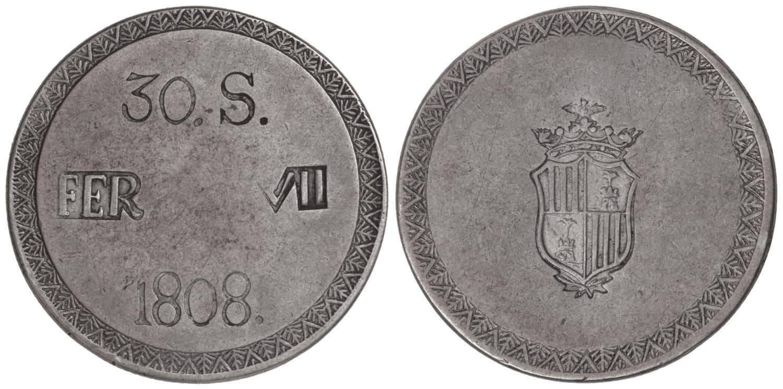 Cospel redondo, maquiquin 1808