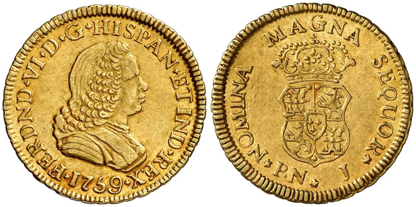 escudo de Popayán de 1759