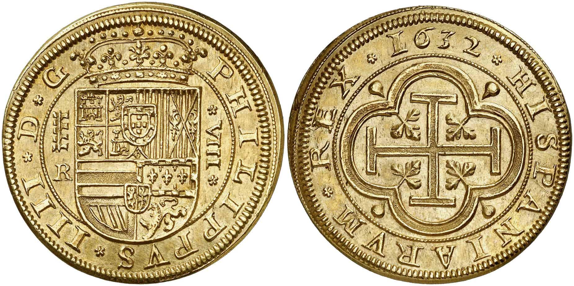 onza segoviana de 1632