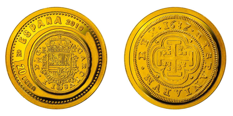 1.24 gramos de oro Joyas Numismáticas