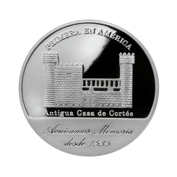 1 onza de plata, México 2015 anverso