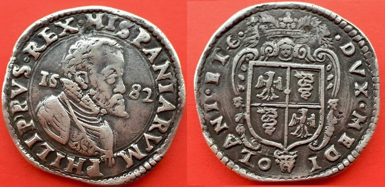 escudo Milan 1582 Falso1